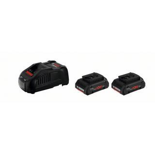 1 600 A01 6GF ProCORE18V 2X4Ah Акумулаторна батерия + GAL 1880 CV BOSCH