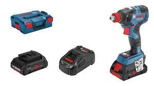 0 601 9G5 220 GDX 180-LI Ак. ударен гайковерт +2 x ак. батерия GBA 18V 3.0Ah  + GAS 18V-1 Прахосмукачка BOSCH