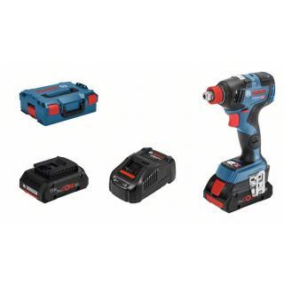 0 615 9G4 201 GDX 18V-200 C Ак. ударен гайковерт + 2 x акумулаторна батерия GBA 18V 5.0Ah + GBA ProCORE 18V 4.0Ah BOSCH