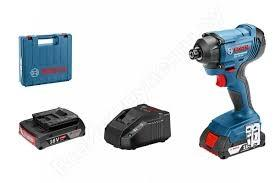 0 601 9G5 120 GDR 180-LI Ак. ударен гайковерт + 2 x ак. батерия GBA 18V 3.0Ah + GAS 18V-1 Прахосмукачка BOSCH